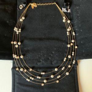 Nolan Miller Multi Strand Floating necklace